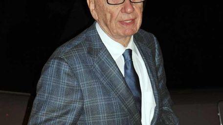Embattled media mogul Rupert Murdoch will be the