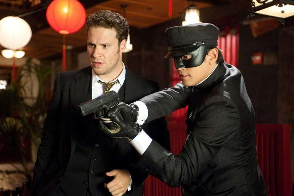 Seth Rogen and Jay Chou starred in 2011's