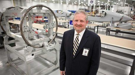Chief executive Ed Fred, of Edgewood-based CPI Aero,