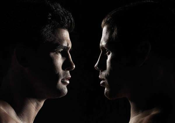 Dominick Cruz and Urijah Faber coach opposing teams
