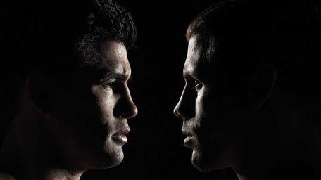 Dominick Cruz and Urijah Faber coach opposing teams