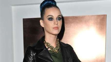 Katy Perry attends the Yves Saint-Laurent Ready-To-Wear Fall/Winter