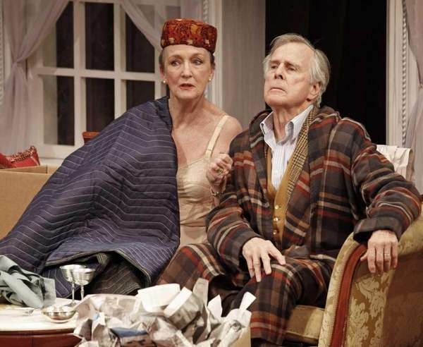 Kathleen Chalfant and John Cunningham in Tina Howe's