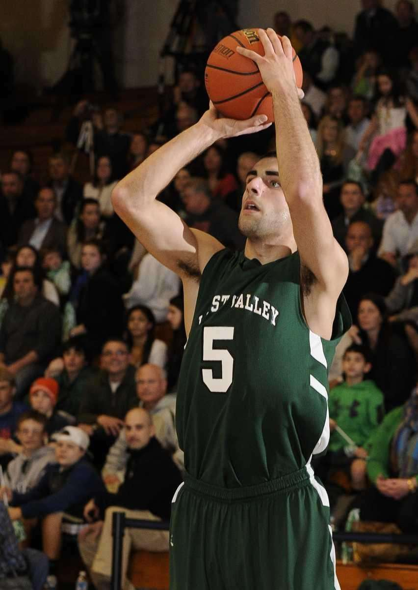 Locust Valley's Alex Rawa shoots and scores two
