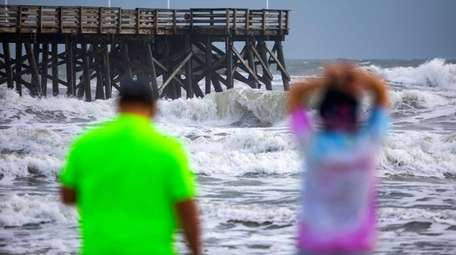 Floridians prepare for Hurricane Dorian on Daytona Beach