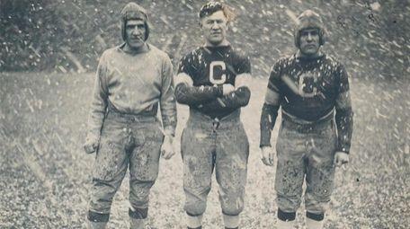 Jim Thorpe, Pete Calac, Joe Guyon of the