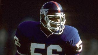 Giants linebacker Lawrence Taylor against Washington on Dec.