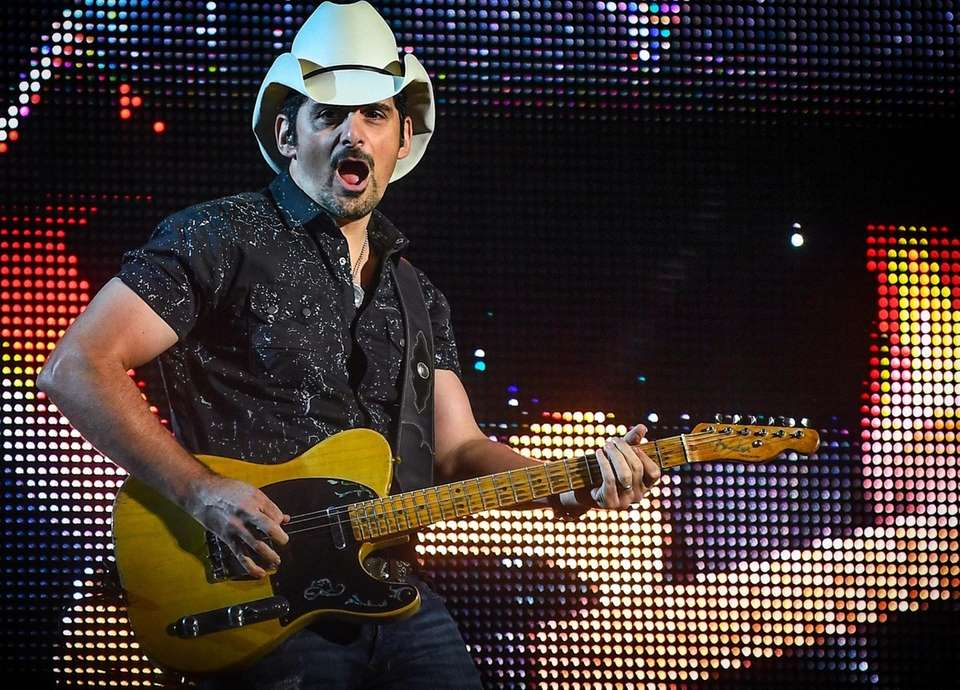 Brad Paisley performs at the Northwell Health at