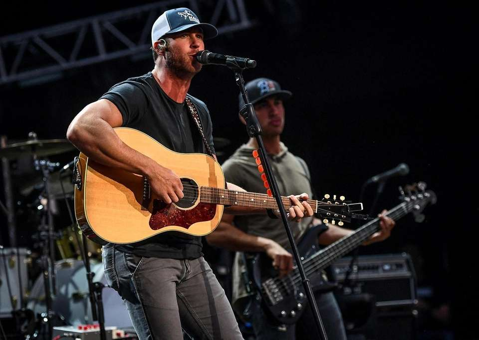 Riley Green Chris Lane performs at the Northwell