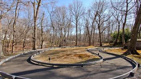 This Laurel Hollow home for sale has a