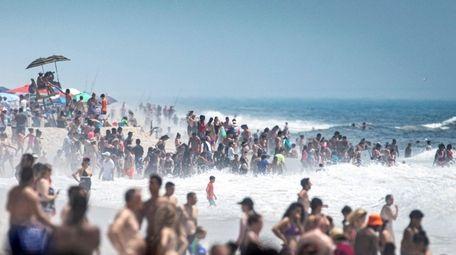 Jones Beach, seen here on July 20, is