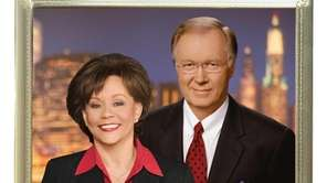 NBC News' anchors Sue Simmons and Chuck Scarborough