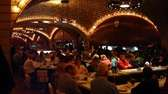 Busy counters at the Grand Central Oyster Bar,
