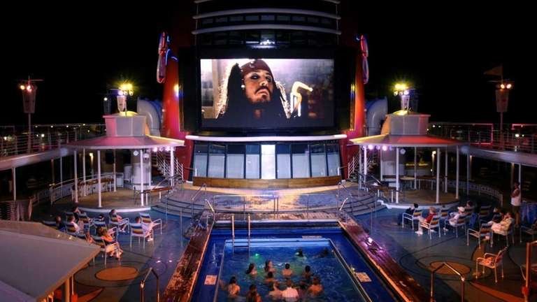 Disney Cruise Line guests can now enjoy poolside