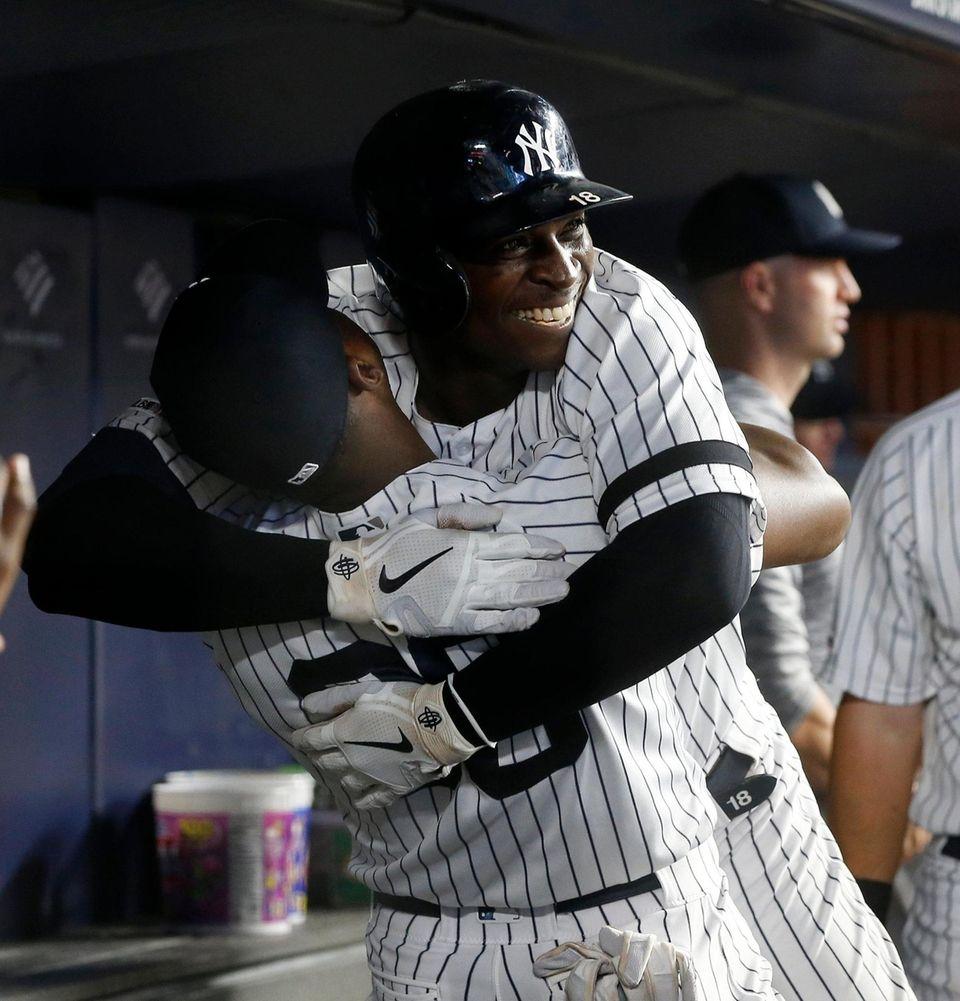 Didi Gregorius #18 of the New York Yankees