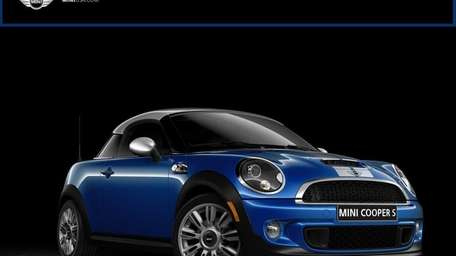 The 2012 Mini Cooper S coupe starts at