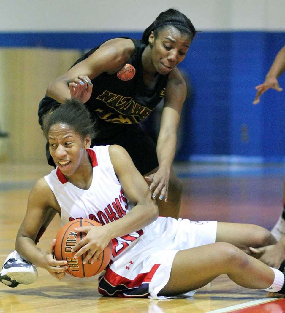 St. John the Baptist's Aliyah Smith can't recover