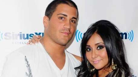 Jionni LaValle and Nicole 'Snooki' Polizzi. (Getty Images)