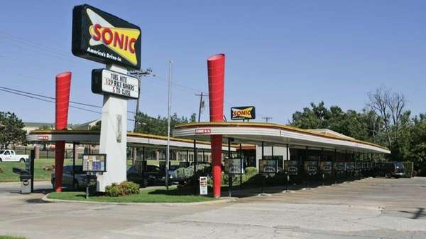 A Sonic Restaurant is pictured in Oklahoma City.