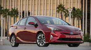 This undated photo provided by Toyota shows the