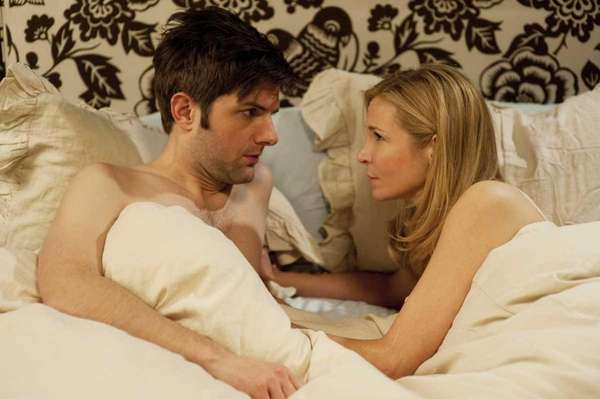 Adam Scott, left, and Jennifer Westfeldt star in