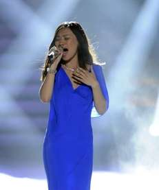 Jessica Sanchez performs Whitney Houston's quot;I Will Always