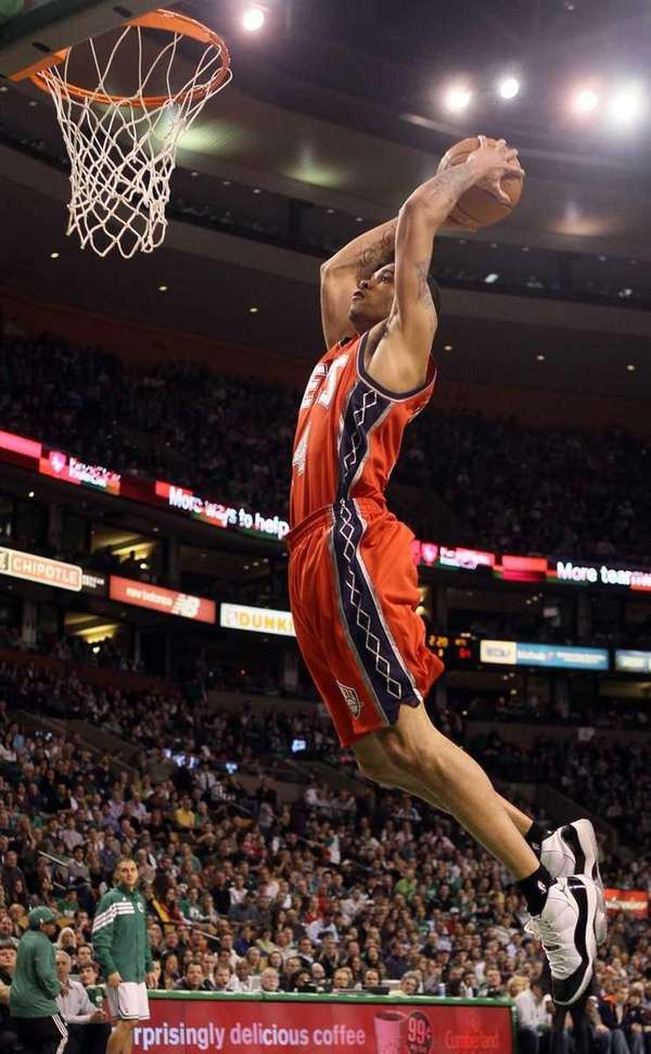 Gerald Green #14 of the New Jersey Nets