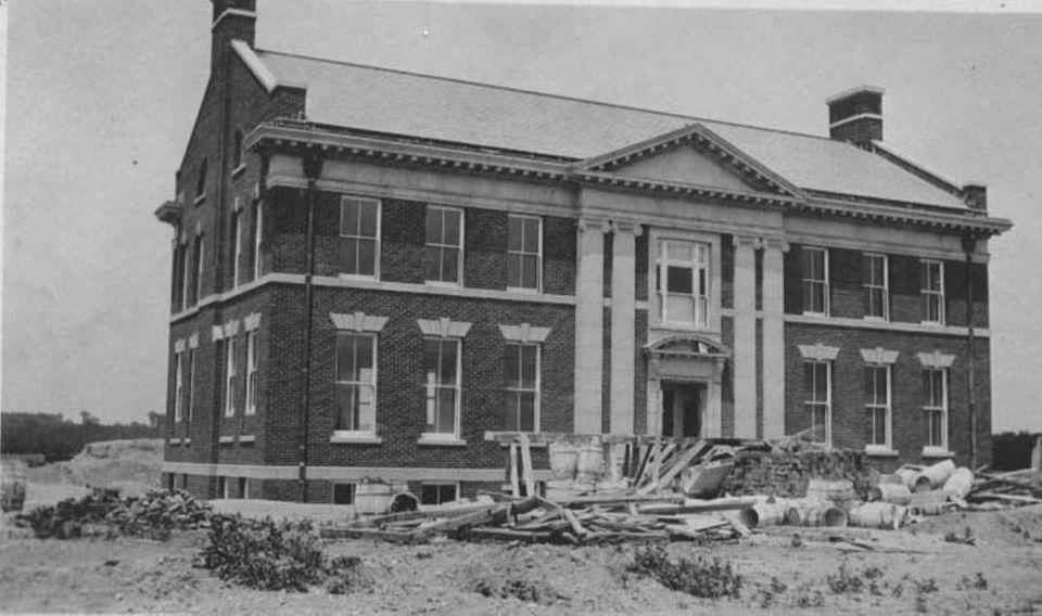 Cutler Hall which, with Hicks Hall, were originally