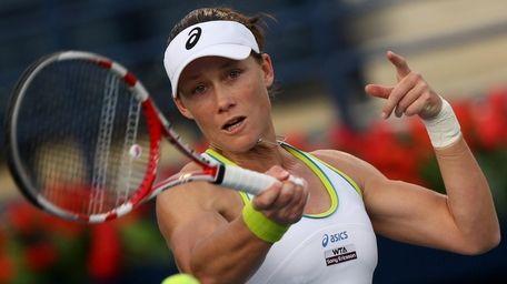 Australian tennis player Samantha Stosur. (Getty Images)