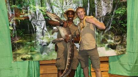 Kids can meet live reptiles and more at