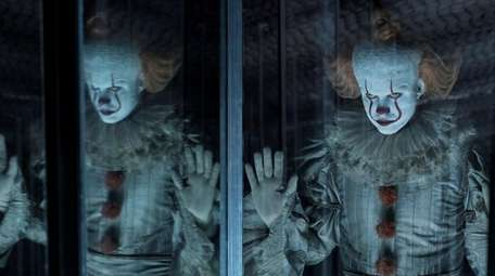 """Bill Skarsgard as Pennywise in """"It Chapter Two."""""""