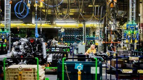 A GM plant in Flint, Mich., in June.