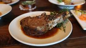 Primehouse chef-owner Arthur Gustafson showed off on Aug.