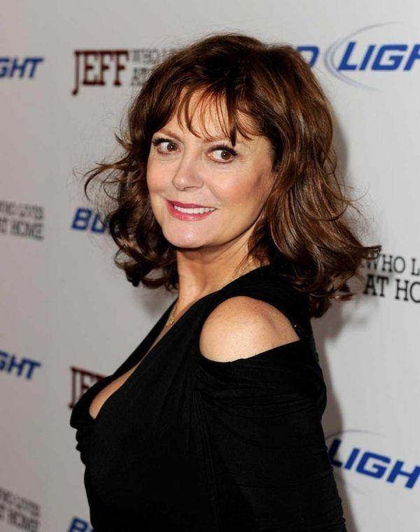 Actress Susan Sarandon arrives at the premiere of