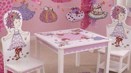 Fancy Nancy Table & Chair Set by KidKraft
