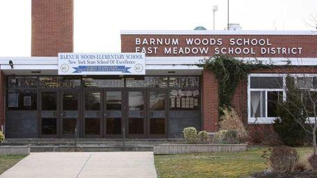 Barnum Woods Elementary School in East Meadow. (March