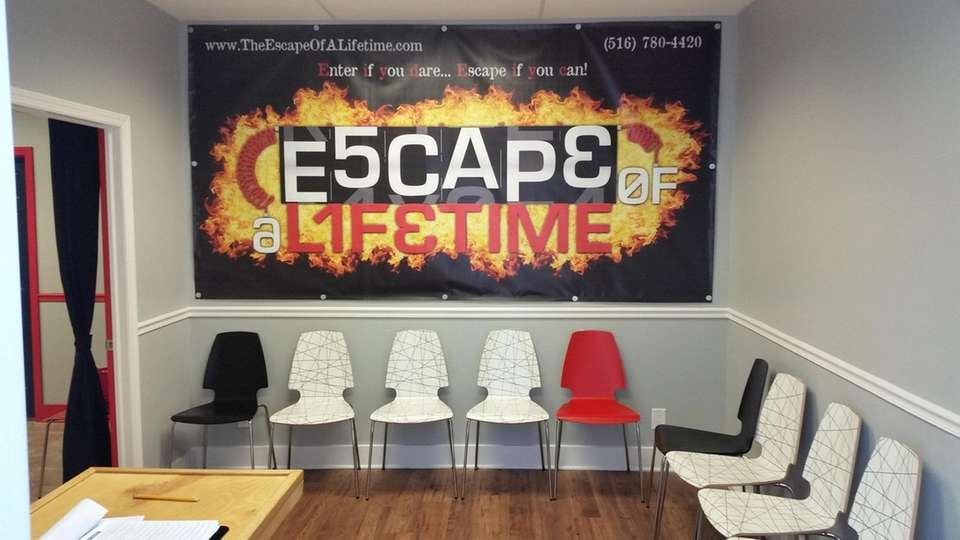 Escape Of A Lifetime, an escape-the-room venue in