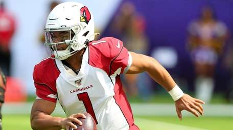 Kyler Murray makes his NFL debut as the