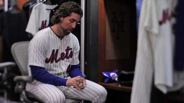 Mets pitcher R.A. Dickey from the film