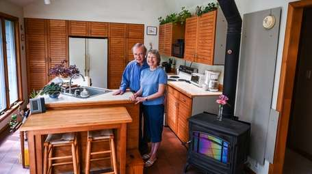 Bill and Barbara Atkinson at their home in