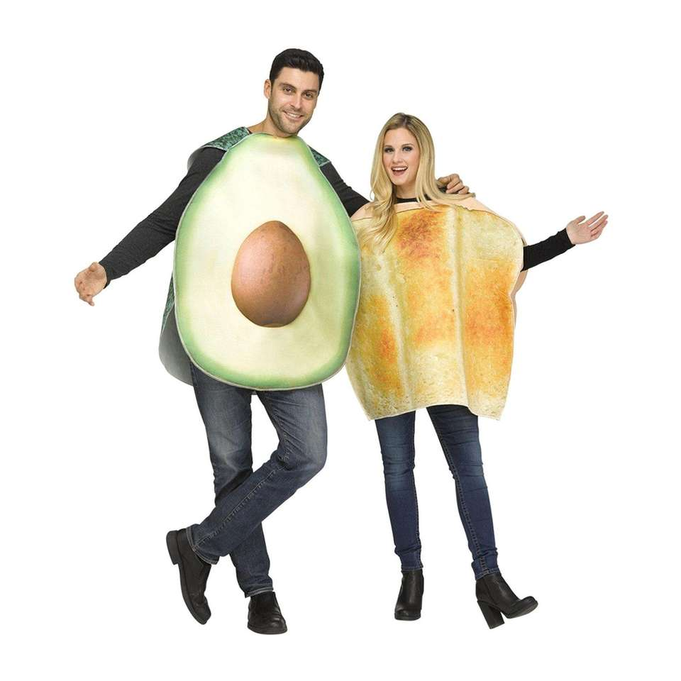 The perfect costume for a millennial duo who