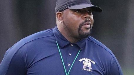 Shoreham-Wading River High School's varsity football head coach