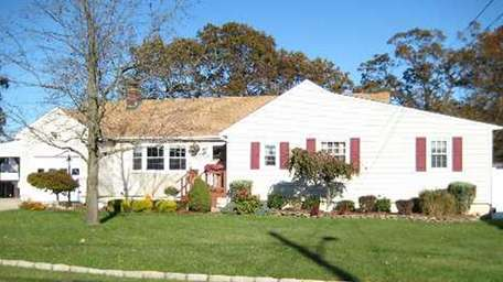 This Lindenhurst home on Centre Avenue is