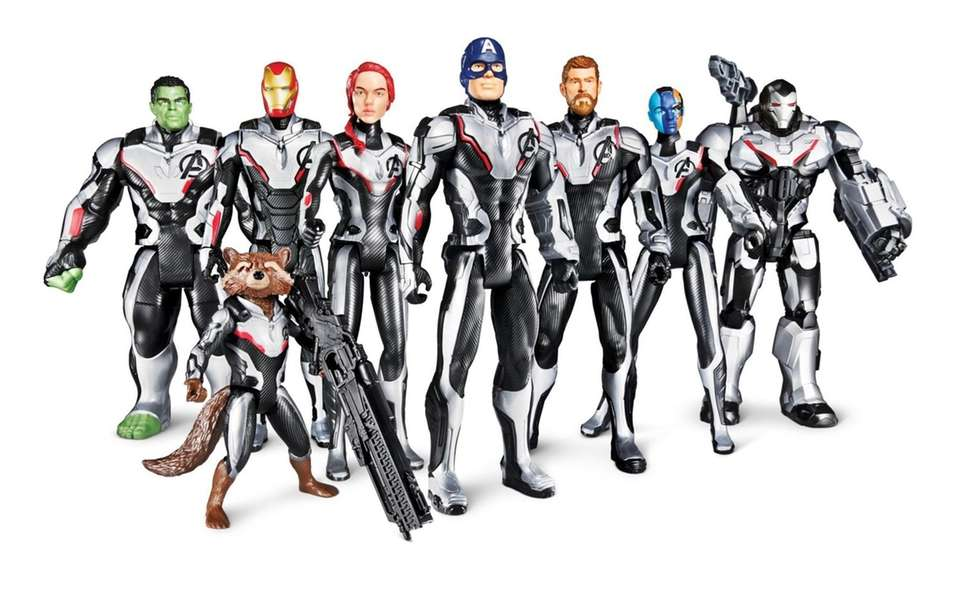 This Target exclusive collection of 12-inch action figures