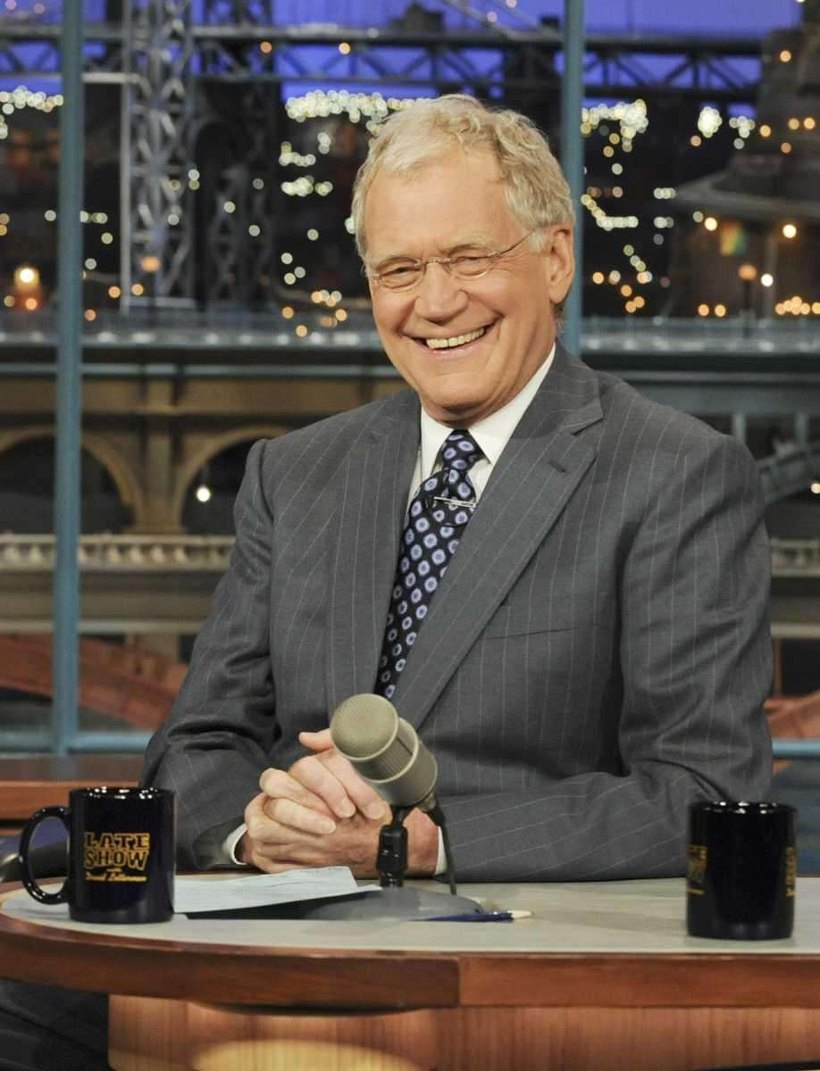 DAVID LETTERMAN: Surely, the