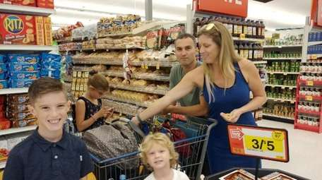 To save money on her weekly groceries, Levittown