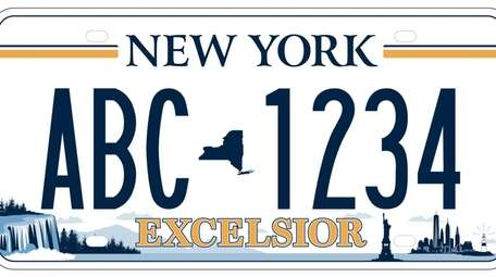 The newly selected license plate will be available