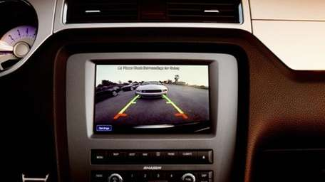 The 2013 Ford Mustang offers rear view camera,