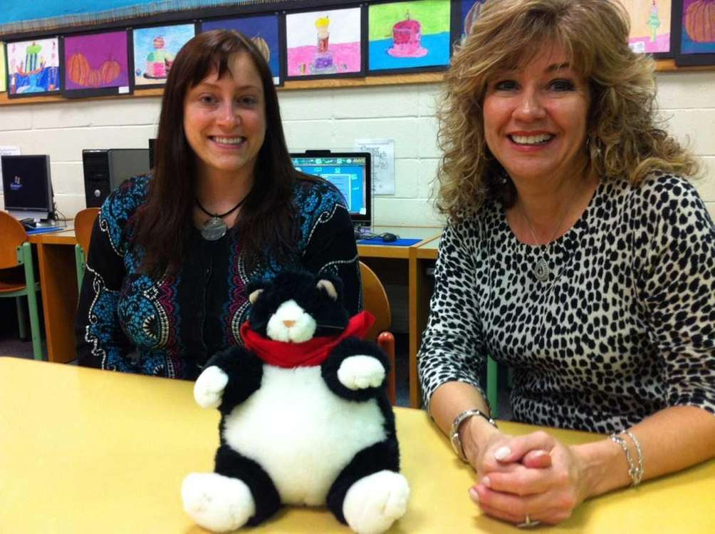 Children's librarians at Levittown Public Library Stacey Farley