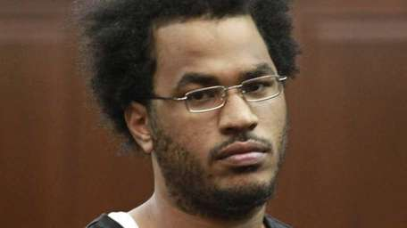 Jose Pimentel is shown in Manhattan criminal court